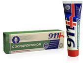 911 хондроитин гель бальзам для суставов 100мл