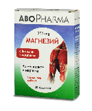AboPharma Магний 250 мг + вит.В комплекс таб №30