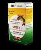 AboPharma Рыбий жир из семги  капс 1000 мг №60. (Омега-3 жирные кислоты и Вит.Е)