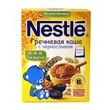 Nestle каша безмолочная гречка-чернослив 200г