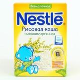 Nestle каша безмолочная рисовая 250г