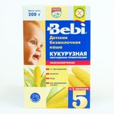 Bebi каша безмолочная кукуруза низкоаллергенная с 5мес 200г