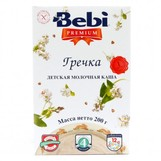 Bebi Prem каша молочн гречка с 4мес 200г