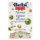 Bebi Prem каша молочн  гречка курага яблоко с  5мес 200гр