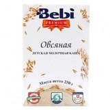 Bebi Prem каша молочн овсяная с 5мес 250г
