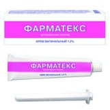 Фарматекс крем ваг 1.2% 72г(бензалкония хлорид)