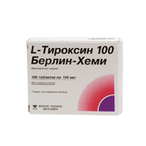L-Тироксин 100 Берлин- Хеми таб №100(Левотироксин натрия)