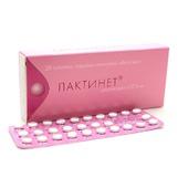 Лактинет таб 0,075мг №28 (контрацептив)