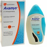 Авамис спрей назальный 27,5мкг/доза 120доз (Флутиказон)