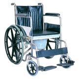 Коляска инвалидная TRIVES (с туалетом,цельнолитые резиновые колеса) CA609BE