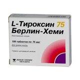L-Тироксин 75 Берлин-Хеми таб №100(Левотироксин натрия)