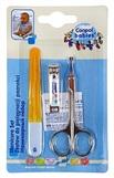 Canpol ножницы, щипчики,пилочка детский маникюрный набор 9/809