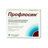 Профлосин капс 0,4мг №30(Тамсулозин)