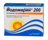 Йодомарин 200 таб №100(Калия йодид)