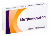Метронидазол таб 0.25г №20*